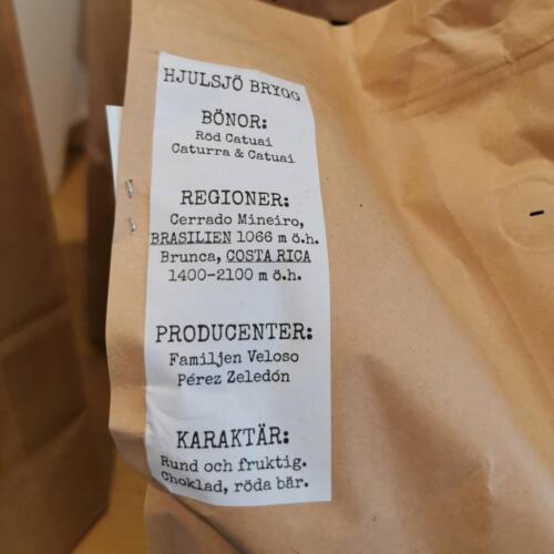 Kaffe från Hjulsjö 103
